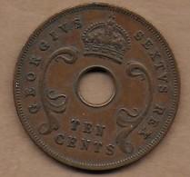EAST AFRICA 10 Cents Bronze 1951 - Autres – Afrique
