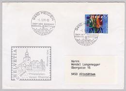 Brief, K-Stempel Heiden  (br5465) - Schweiz
