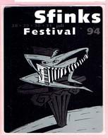 Sticker - Sfinks Festival 1994 - Autocollants