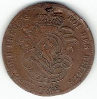 Belgium, 2 Centimes 1862 - 1831-1865: Leopold I