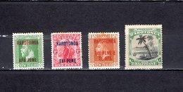 N.Zelanda - Rarotonga   1919-20  .   Y&T  Nº    1/3-14 - 1907-1947 Dominion