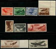 Russia 1945 Mi 972-980 MNH** - 1923-1991 USSR