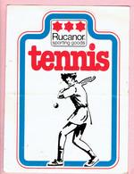 Sticker - Rucanor Sporting Goods - Tennis - Autocollants