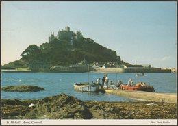 St Michael's Mount, Cornwall, 1993 - John Hinde Postcard - St Michael's Mount