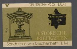 DDR 1985 1986 Michel Nr. SMHD 22 A ** Postfrisch, Sondermarken-Markenheftchen Mit Druckvermerk V-5-2, Michel 3015 X10 - DDR