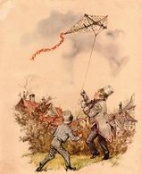 AQUILONE CERF-VOLANT KITE DRACHEN  Antica Illustrazione OLIVER TWIST - DICKENS - Anni 1930    Ancient Illustration - Andere