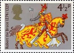 USED STAMPS Great-Britain - Medieval Knights -1974 - 1952-.... (Elizabeth II)