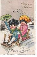ZO 84/   KINDEREN                 GETEKEND DOOR   BOURET - Postcards