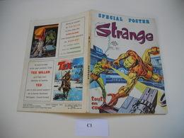 STRANGE EDITION LUG N°56 X MEN //// DAREDEVIL /// IRON MAN /// L'ARAIGNEE C1 - Strange