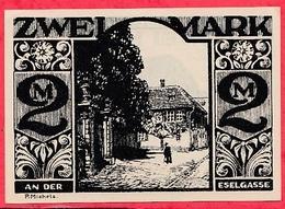 Allemagne 1 Notgeld  2 Mark Stadt  Paderborn Dans L 'état  Lot N °3201 - [ 3] 1918-1933 : République De Weimar
