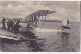 Gironde - Cazeaux - Hydravion Sur L'étang - France