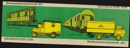DDR 1981 Michel Nr. SMHD 9 D V ** Postfrisch, Sondermarken-Markenheftchen Mit Druckvermerk, Michel 2651 X10, 3 Scans - DDR