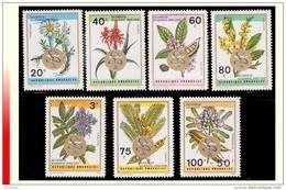 Rwanda 0537/43**  Fleurs Surchargés  MNH - Rwanda