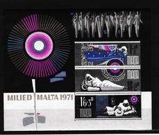 Malta 1971 Blok Nr 1 **, Zeer Mooi Lot K967 - Malte