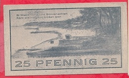 Allemagne 1 Notgeld  25 Pfenning Stadt Ostseebades/Niendorf Dans L 'état  Lot N °3207 - [ 3] 1918-1933 : République De Weimar
