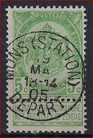 Nr. 56 Met MOOIE Afstempeling MONS (STATION) DEPART ; Staat Zie Scan ! Inzet Aan 5 € ! - 1893-1907 Armoiries