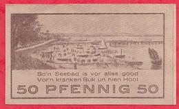 Allemagne 1 Notgeld  50 Pfenning Stadt Ostseebades/Niendorf Dans L 'état  Lot N °3208 - [ 3] 1918-1933 : République De Weimar