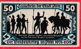 Allemagne 1 Notgeld  50 Pfenning Stadt Plön Dans L 'état  Lot N °3209 - [ 3] 1918-1933 : République De Weimar