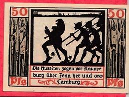 Allemagne 1 Notgeld  50 Pfenning Stadt Naumburg Dans L 'état  Lot N °3213 - [ 3] 1918-1933 : République De Weimar