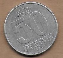 50 Pfennig Alu 1968 A - [ 6] 1949-1990 : GDR - German Dem. Rep.
