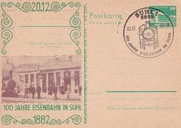 DDR 100 Jahre Eisenbahn In Suhl 20-12-1982 - Trains