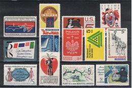 U.S.A.:  1966  COMMEMORATIVI  -  13  VAL. N. -  YV/TELL. 800//814 - Stati Uniti