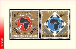 Rwanda 0899/900*  OUA  H - Rwanda