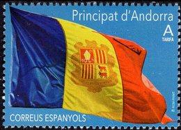 Spanish Andorra - 2019 - Flag Of Andorra - Mint Stamp - Neufs