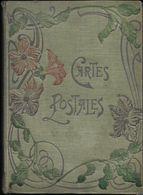 ALBUM  ANCIEN DE CARTES POSTALES VIDE 50 FEUILLETS RECTO VERSO FORMAT 20 X 27.5 X 3.5 CM TRÈS BON ETAT GÉNÉRAL - Albums & Collections