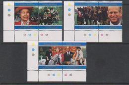 South Georgia 1997 Golden Wedding 6v (corners) ** Mnh (41702A) - Zuid-Georgia