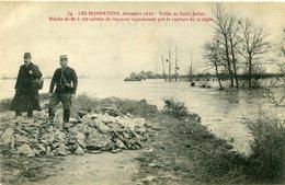 INONDATION(VALLEE DE SAINT JULIEN) - Inondations