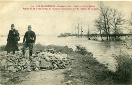 INONDATION(VALLEE DE SAINT JULIEN) - Floods