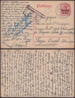 Belgique 1917 - EP Gembloux Vers Allemagne + Censure Vers Un Camps (AIX2703) DC1669 - Occupazione Tedesca