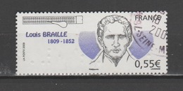 FRANCE / 2009 / Y&T N° 4324 : Louis Braille - Choisi - Cachet Rond - France