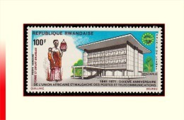 Rwanda PA 0008**  Telecommunication  MNH - Rwanda