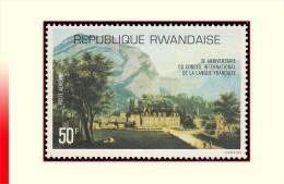 Rwanda PA 0011**  Conseil De La Langue Française  MNH - Rwanda