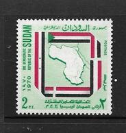 SOUDAN 1971 CHARTRE DE TRIPOLI  YVERT N°229  NEUF MNH** - Soudan (1954-...)