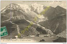 74.  Le Col De Voza .  La Gare Et Les Hôtels . - France