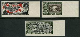 Russia  1946 Mi 1071-1074 B MNH OG - 1923-1991 USSR