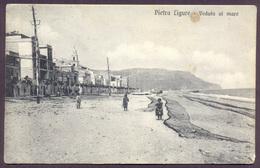 PIETRA LIGURE, Veduta Al Mare - Viaggiata - Altre Città