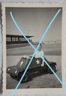 Photo WENDUINE De Haan Blankenberge Cuistax Char 1958 Kust Strand - Lieux