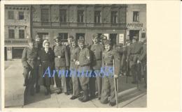 Wehrmacht - Soldaten & Krankenschwester - Deutsches Rotes Kreuz (DRK) - Krieg, Militär