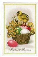 CPA - Carte Postale-Belgique-Joyeuses Pâques Avec Un Poussin- S5117 - Easter