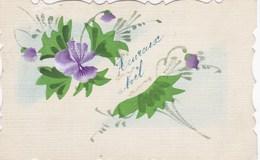 Heureuse Noël, Merry X-Mas, Flowers, Fleurs (pk54277) - Christmas