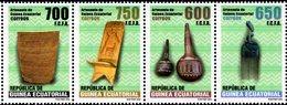 Equatorial Guinea - 2018 - Arts And Handicrafts Of Guinea - Mint Stamp Set - Guinée Equatoriale