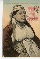 425. CPA GRECE SOUVENIR DE SALONIQUE. COSTUME DE FEMME ISRAELITE - Grèce