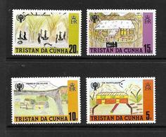 TRISTAN DA CUNHA 1979 ANNEE DE L'ENFANT  YVERT N°263/66  NEUF MNH** - Tristan Da Cunha