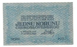 Czechoslovakia 1 Koruna 1919 - Cecoslovacchia