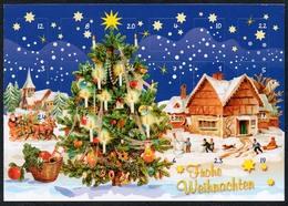 C2068 - TOP Glückwunschkarte - Weihnachtskalender Adventskalender - Christmas