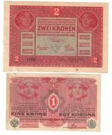 Austria Lot Set 1 & 2 Kronen 1916/1917 - Austria